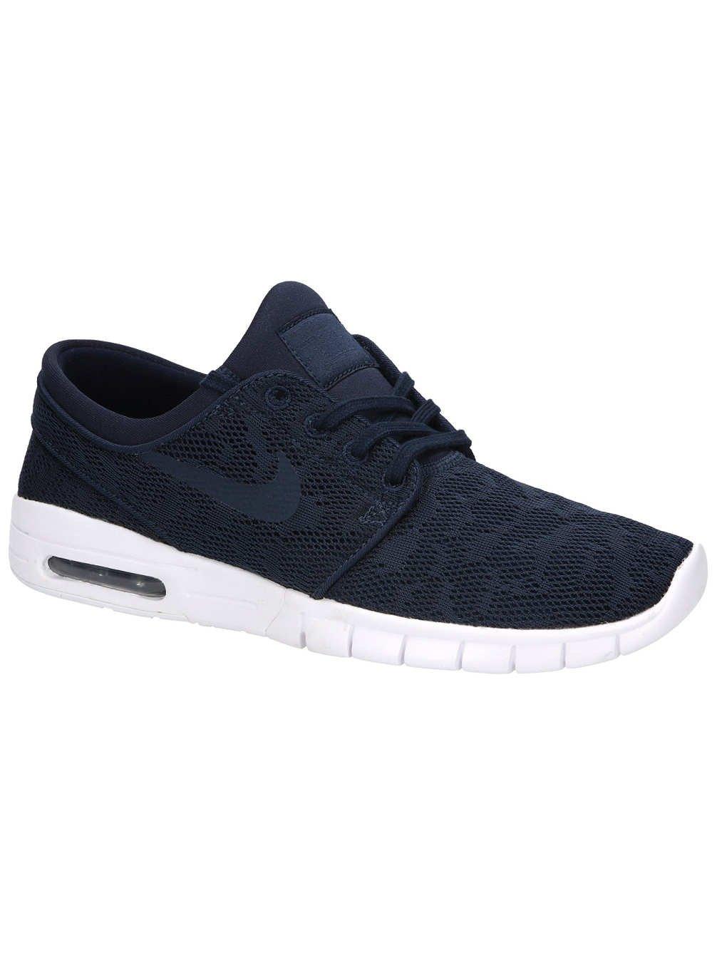 Nike Stefan Janoski Max Unisex-Erwachsene Sneakers  5.5 D(M) US|wei?/gold (Obsidian/Obsidian-mineral Gold)