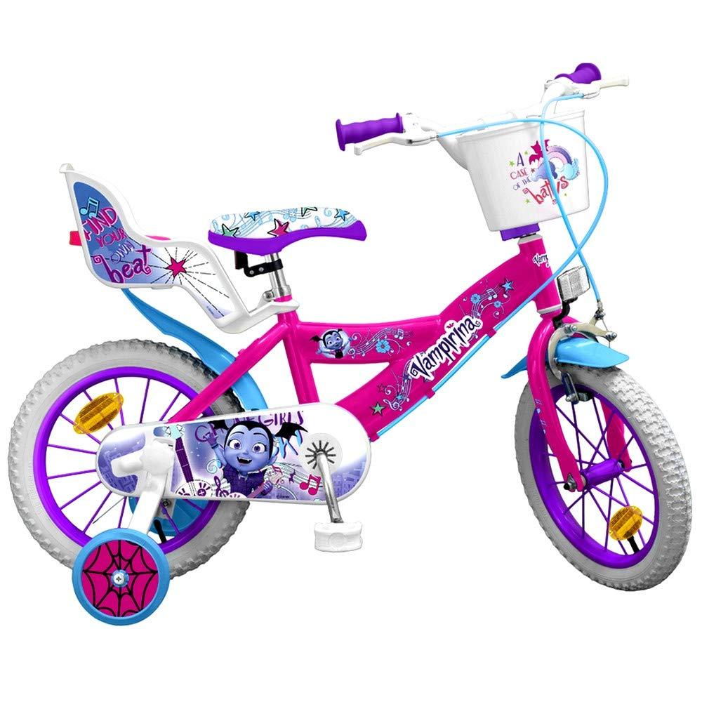 Guizmax Bicicleta 16 Pulgadas Vampirina Disney Licencia Oficial Nuevo