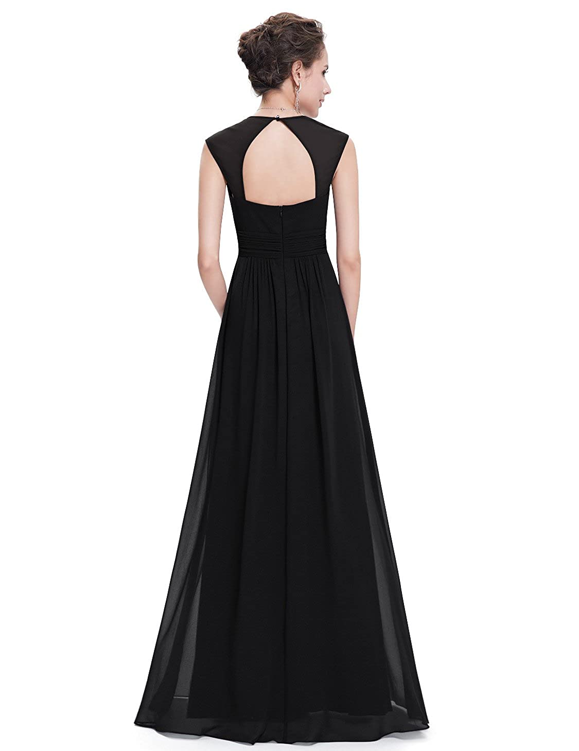 3f3e313afc8 Ever-Pretty Women s Elegant V-Neck Sleeveless Formal Long Evening Dress  08697 at Amazon Women s Clothing store