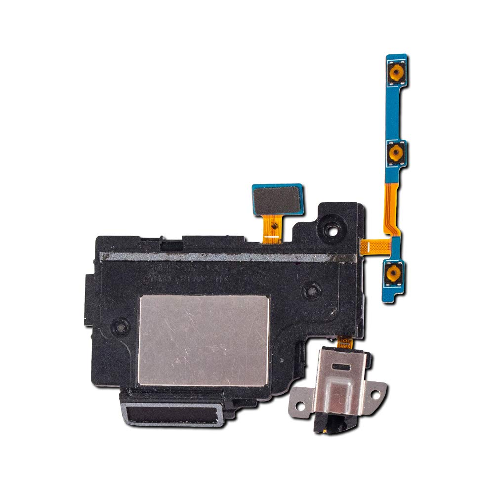 Loudspeaker, Headphone Jack, Power and Volume Flex Cable Compatible with Samsung Galaxy Note 10.1 (2014 Edition) (SM-P600, SM-P601, SM-P605)
