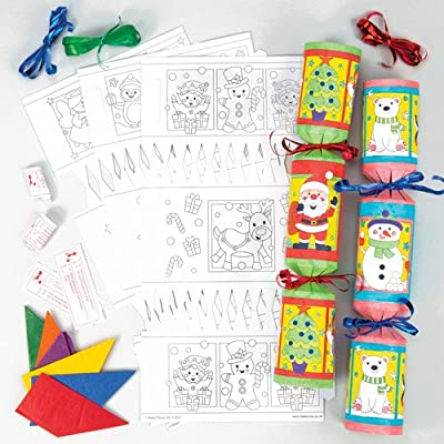 Christmas Cracker Toys.Christmas Cracker Kits Fun Packed Xmas Toys At Pocket Money Prices Perfect Party Bag Fillers For Children Pack Of 6