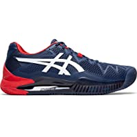 ASICS Men's Gel-Resolution 8 Clay Tennis Shoes