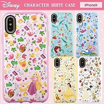 b0cafd65b3 【カラー:アリス】iPhoneX ディズニー プリンセス イーフィット ケース キャラクター スマホ カバー ソフト ソフト