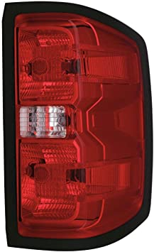 07-13 GMC Sierra 1500 2500 3500 HD Red Brake Tail Light Right Passenger Side