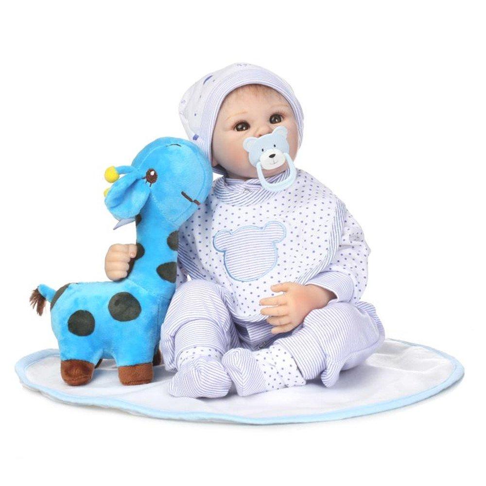 20インチ50 cmソフトSiliconeビニールRebornベビー人形Lovely Lifelike Baby Cute人形誕生日プレゼントToys for Ages 3 +   B07BFTNQ6B