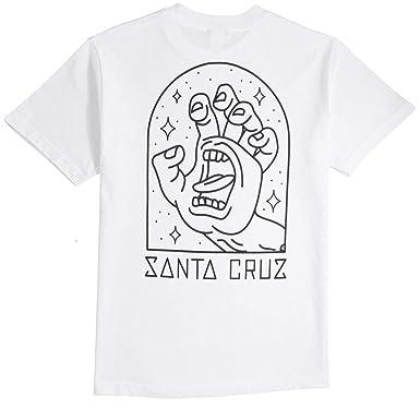 5021b7774 Image Unavailable. Image not available for. Color: Santa Cruz Gateway Hand T -Shirt - White ...