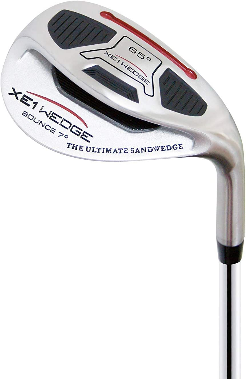 xE1 Sand Wedge & Lob Wedge– The Out-in-One Golf Wedge, Pitching and Chipping Wedge– Legal for Tournament Play Golf Club for Men & Women