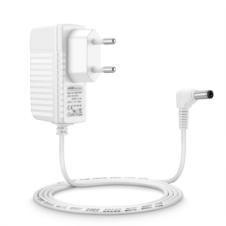 Aukru Cargador para Philips Avent Babyphone SCD 600 Baby Monitor DECT Unidad Beb/és Blanco