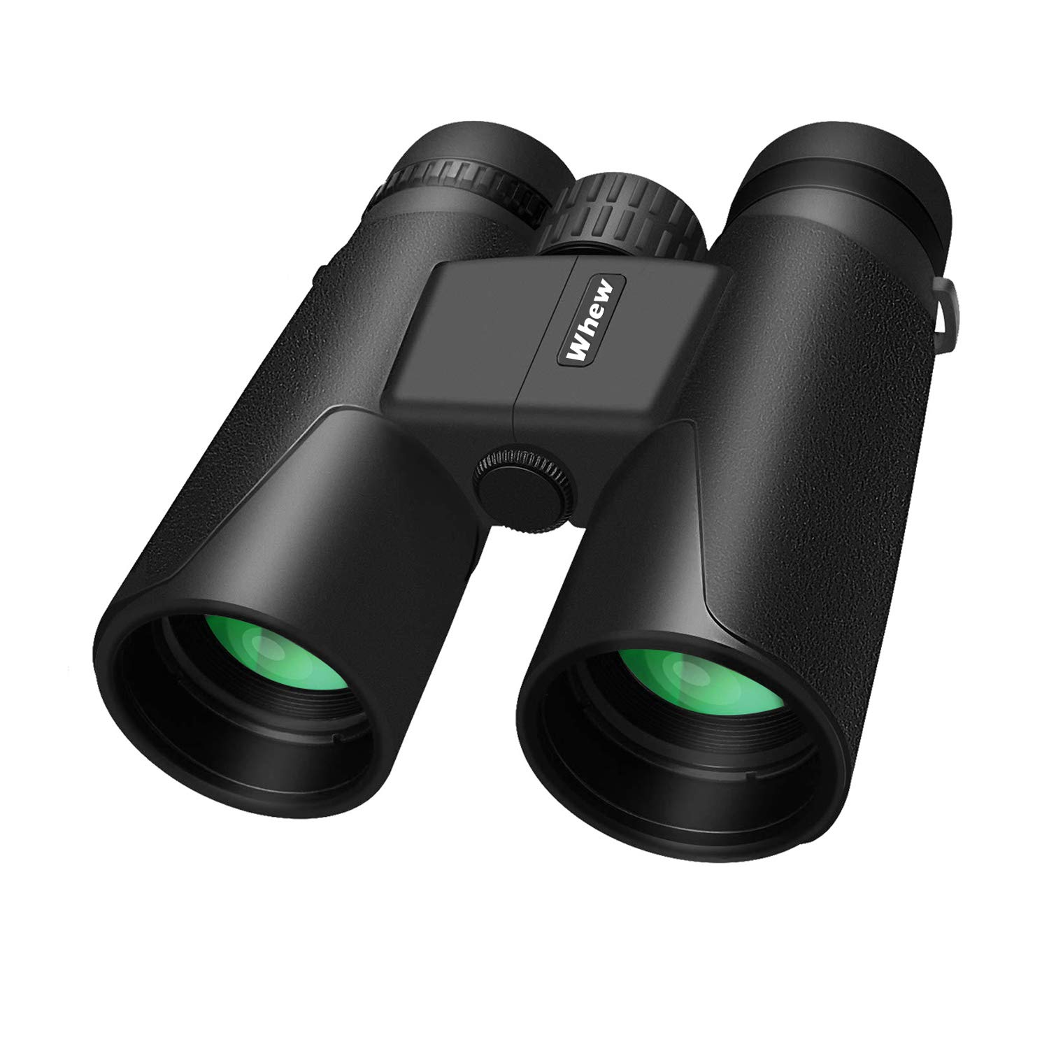 Whew Binoculars for Adults,10x42 Compact HD Binoculars with Low Light Night Vision for Bird Watching Hunting Hiking Travel Stargazing Concerts Sports, BAK4 Prism FMC Lens with Strap Carrying Bag by Whew