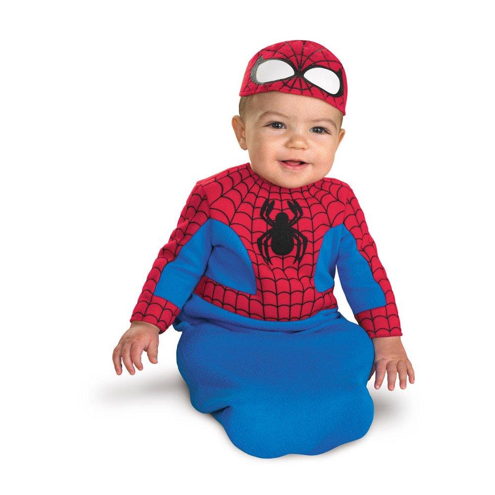 sc 1 st  Amazon.com & Amazon.com: Spider-Man Bunting Infant Costume - (0-6 mths): Clothing