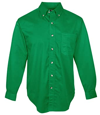 Mens long sleeve green shirt custom shirt Emerald green mens dress shirt