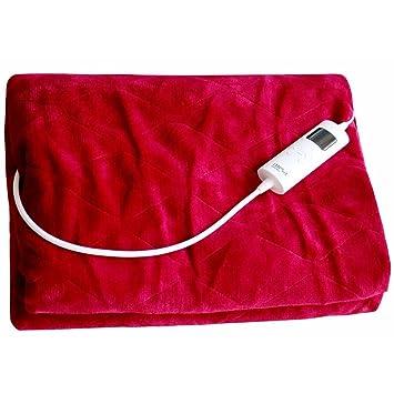 Mesa Living graue Elektrische Heizdecke extra groß weich und kuschelig 180 cm Sonstige