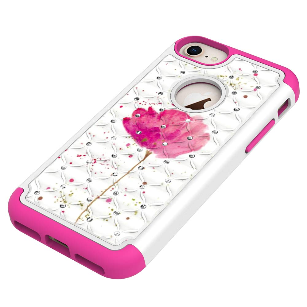 coque iphone 8 plus fleur de lotus