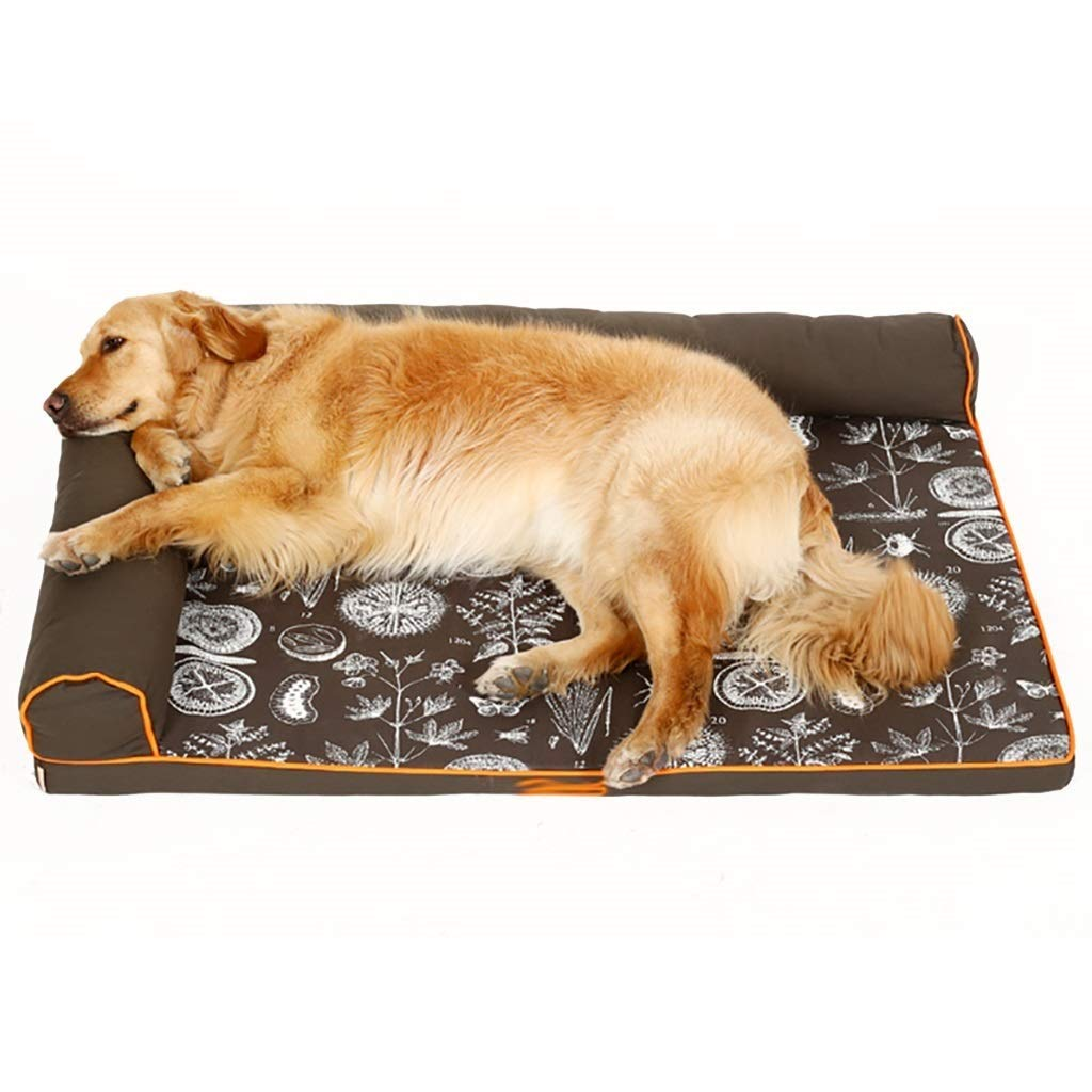 120×89cm SSB Pbeds Dog Bed Black for Medium Dogs Cat Pet Durable Cute Puppy Kennel Beds for Small Doggie Doggy Indestructible 70-120cm (Size   120×89cm)