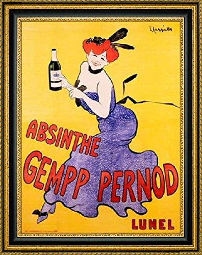 framed-canvas-print-wall-art-absinthe-gempp-pernod-1903-by-leonetto-cappiello-18-x-24-ready-to-hang