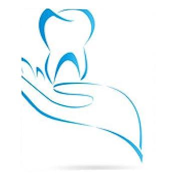 Zahn, Hand, tooth, Logo, Arzt Logo Mousepad: Amazon.de: Elektronik