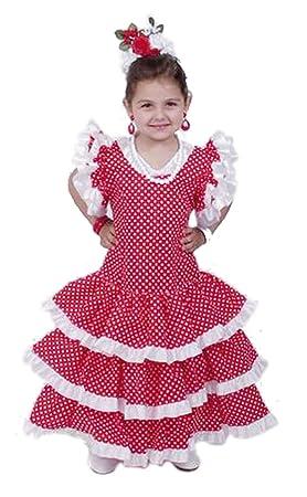 EL CARNAVAL Disfraz Sevillana niña Talla de 4 a 6 años ...
