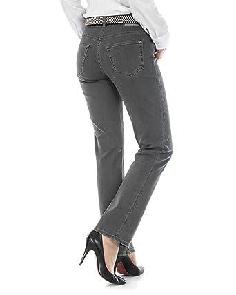 viele möglichkeiten online Weltweit Versandkostenfrei MAC Jeans Melanie Grau D48 L34: Amazon.de: Bekleidung