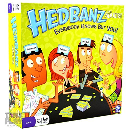 Spin Master Hedbanz for Adults (Headbanz Adult Game)