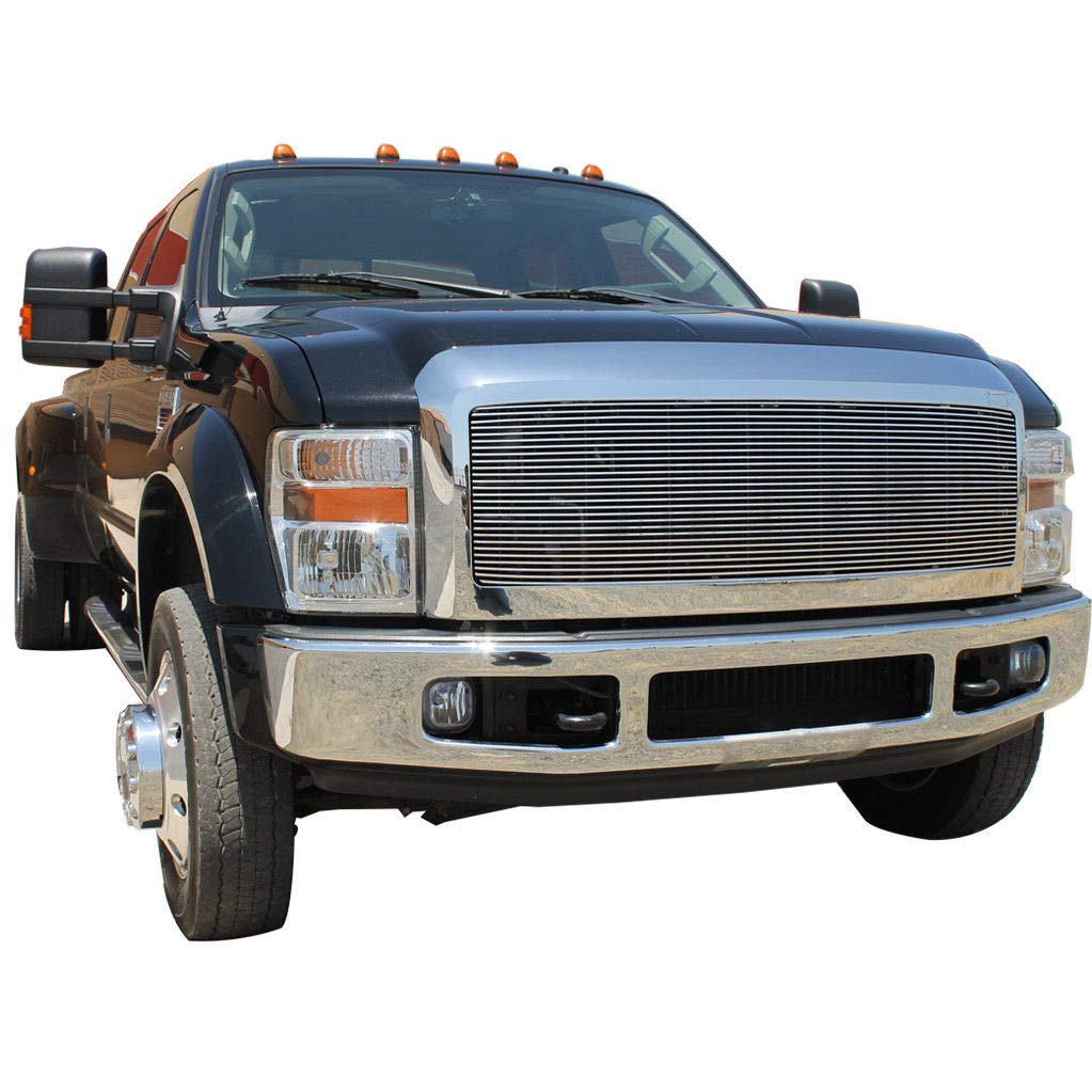 EAG Chrome Billet Grille+Shell for 08-10 Ford F250//F350