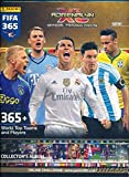 2016 Panini Adrenalyn XL FIFA 365 EXCLUSIVE Collectors Album Binder with 26 Sheets that can hold over 230 Cards! PLUS HUGE Checklist Poster &5 Adrenalyn XL Logo Card Protectors! Imported from Europe!