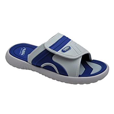 Amazon.com | Adjustable Strap Comfortable Shower Beach Sandal Slippers in Classy Colors for Men | Slippers