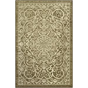 Maples Rugs Kitchen Rugs, [Made in USA][Pelham] Non Slip Padded Small Area Rugs for Living Room, Bedroom, and Entryway