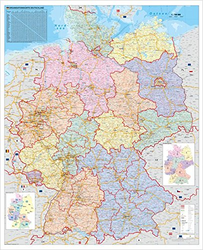 Deutschland Organisationskarte Amazon De Stiefel Eurocart Ba Cher