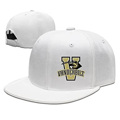 premium selection f49d5 2019f ... sale vanderbilt university mr. commodore fashion snapback hip hop hat  white fcd00 00575
