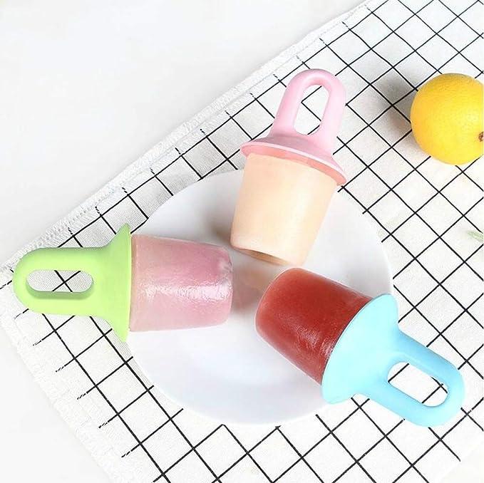 ZZZALL - Chupete casero de verano con diseño de caseta de helado y cubitos de hielo, color caramelo: Amazon.es: Hogar