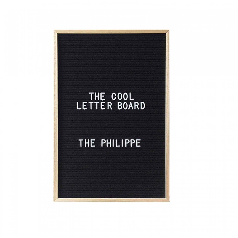 Maestro Letter Board M Wollfilz 46 x 31 cm Orange