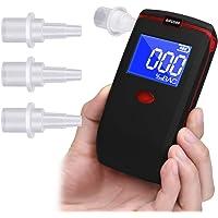 Alcoholímetro Oasser Respiratorio Digital Portátil con Pantalla LCD
