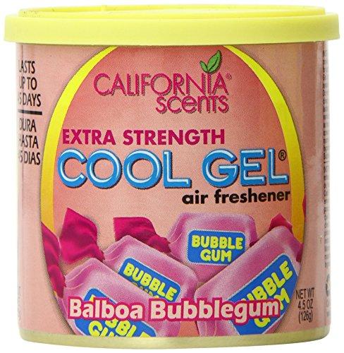 California Scents Cool Gel 4-Unit Tray, Balboa Bubblegum, 4.5 Ounce (Pack of 4)