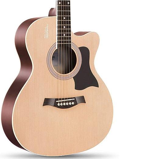 Guitarra acústica de una sola placa, guitarra de viaje hecha a ...