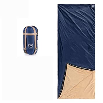 MIAO Saco de dormir - Bolsas de dormir de terciopelo coral sobre mini envoltura al aire