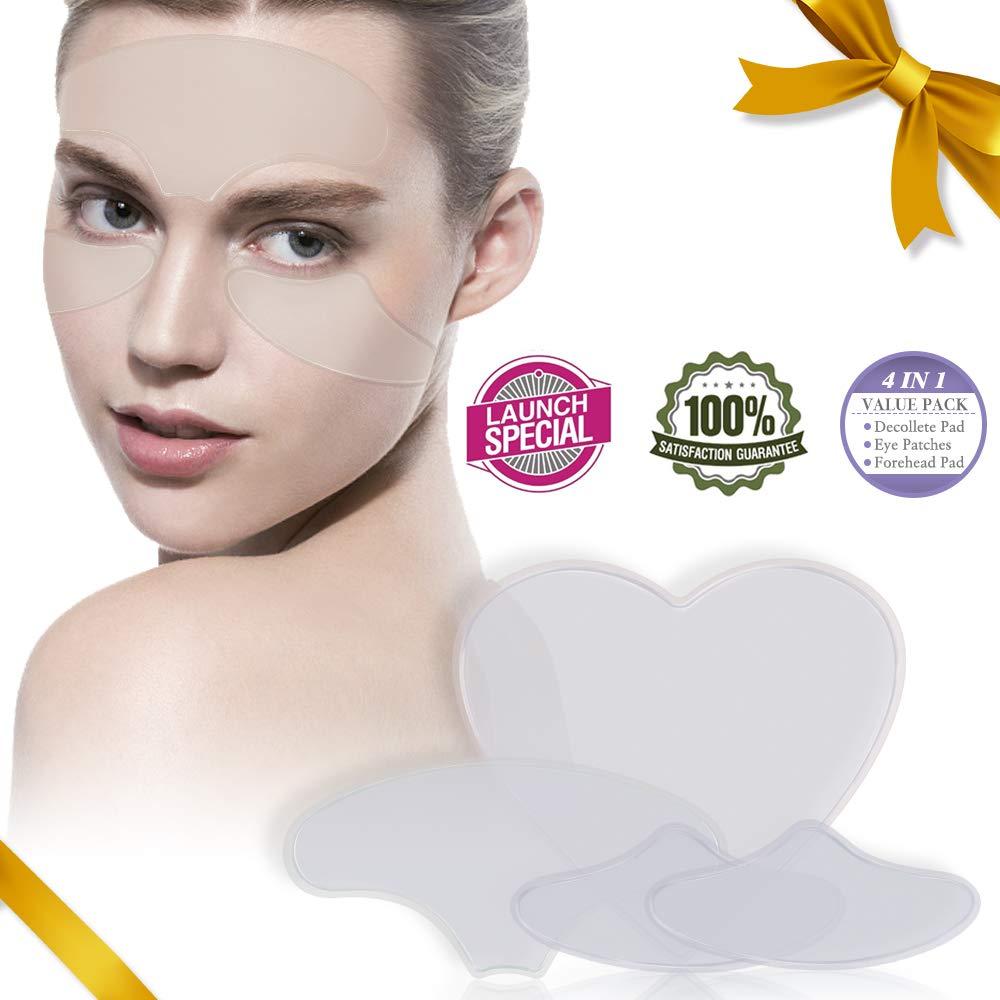 relassy dekol Lete Antiarrugas Pads Silicone anti-arrugas gesichtspads Antiarrugas Ojo Cuidado, Antiarrugas Pads Mujeres