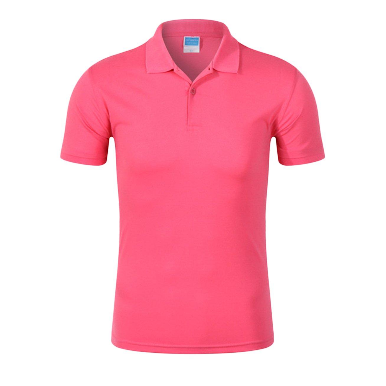040d3cfb Averywin Womens Polo Shirts 2 Pack Tops T Shirt Plain Sportswear Short  Sleeve T-Shirts at Amazon Women's Clothing store: