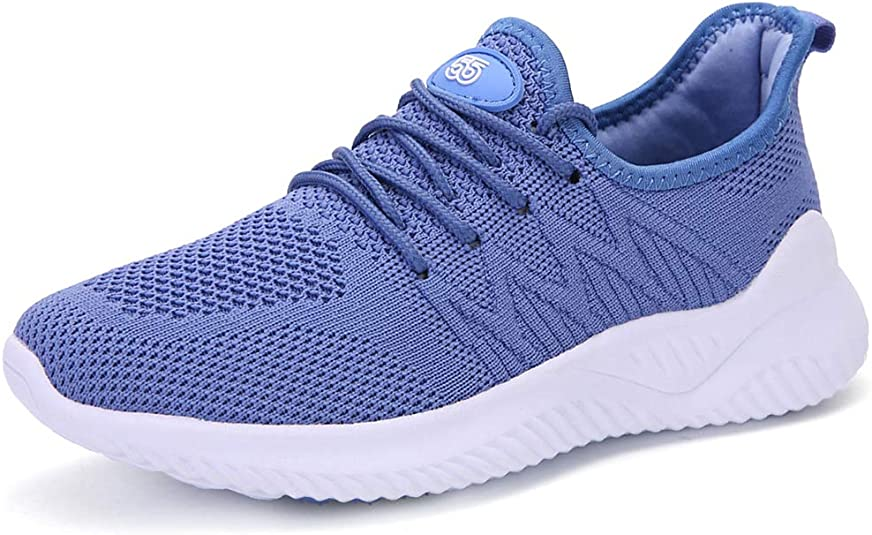 Phefee Mens Running Shoes Womens Ateletic Cushioned Walking Shoes Casual Fashion Sneakers