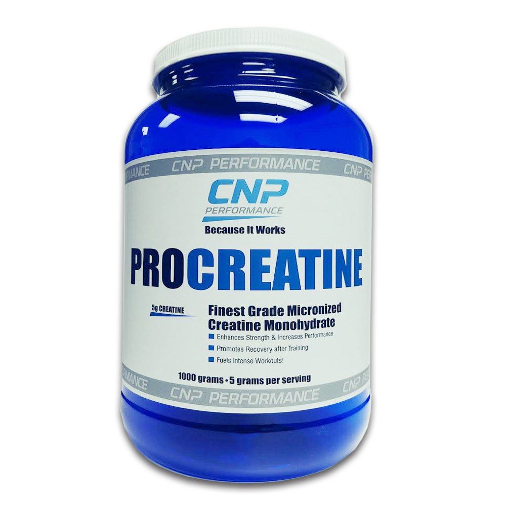 CNP ProCreatine Muscle Increase Strength Power Performance | 1000g, Unflavored