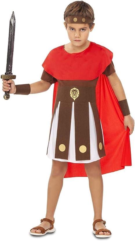 My Other Me Disfraz de Guerrero Romano para niño: Amazon.es ...