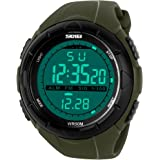 Skmei Digital Black Dial Men's & Boy's Watch(Skm-1025-Green-01)