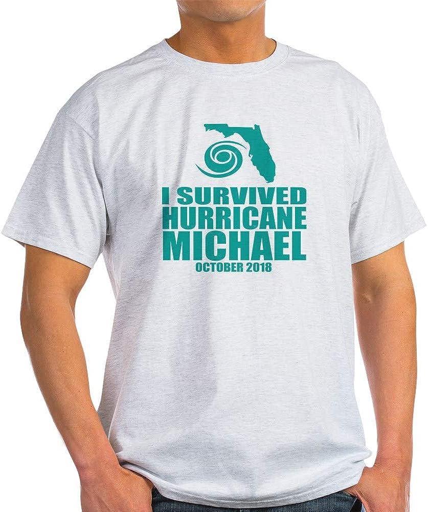 CafePress I Survived Hurricane Michael Cotton T-Shirt