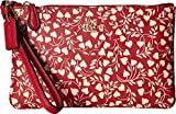 COACH Women's Small Wristlet with Love Leaf Li/Love Leaf One Size
