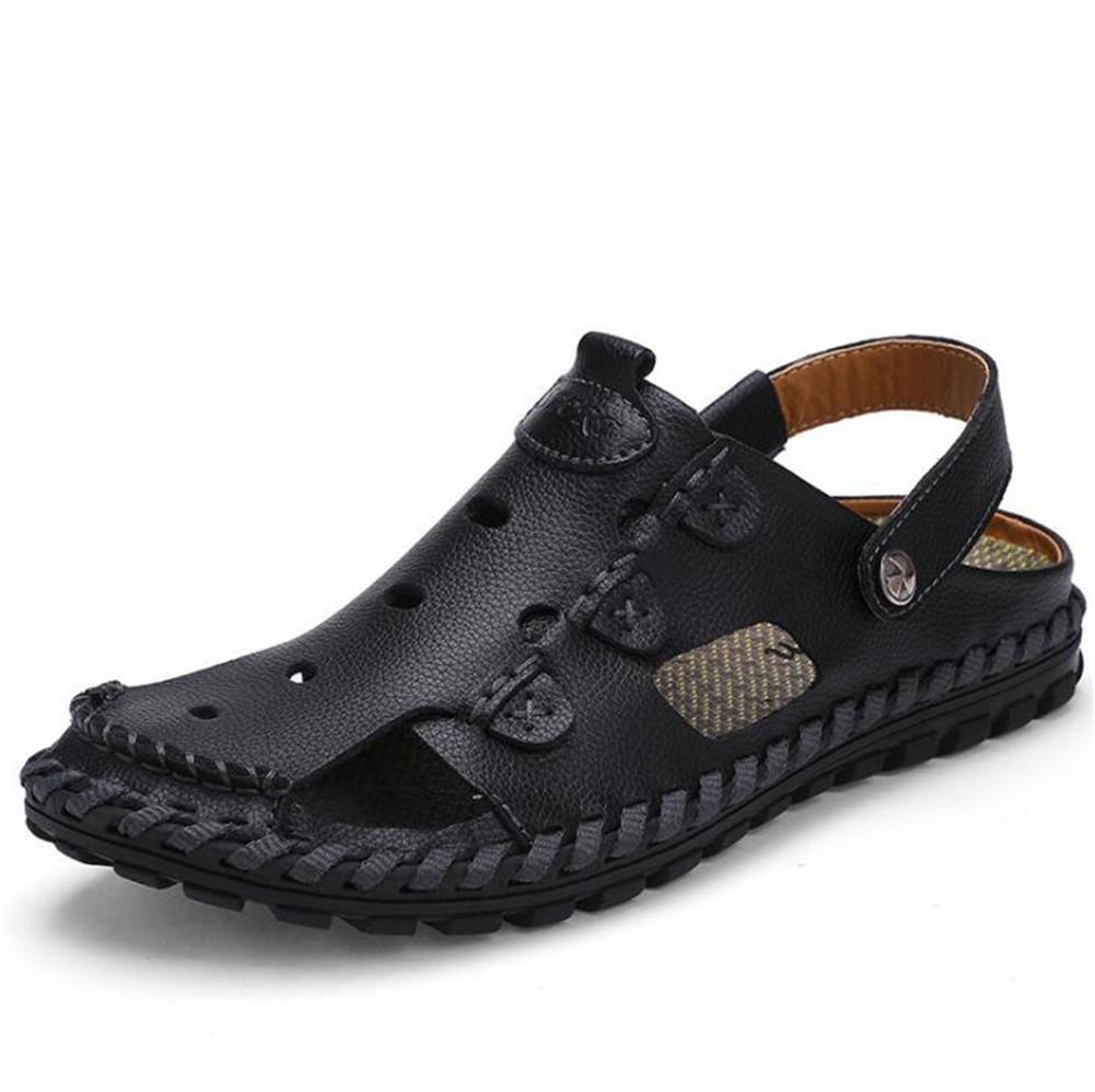 Nslxie Manner Schuhe Sandalen Aus Echtem Leder Sandalen Schuhe