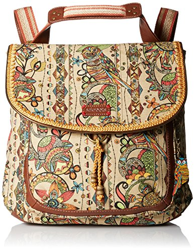 Sakroots Artist Circle Convertible Backpack, Camel Spirit Desert, One Size