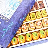Ghasitaram Gifts Diwali Gifts Diwali Sweets - Assorted Sweets Box (400 gms)