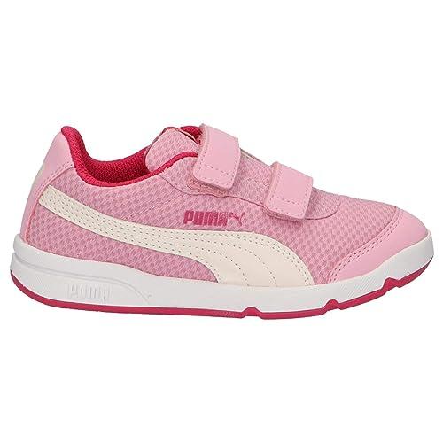 Zapatillas Deporte de Niño y Niña PUMA 190703 STEPFLEEX 07 Pink-White: Amazon.es: Zapatos y complementos