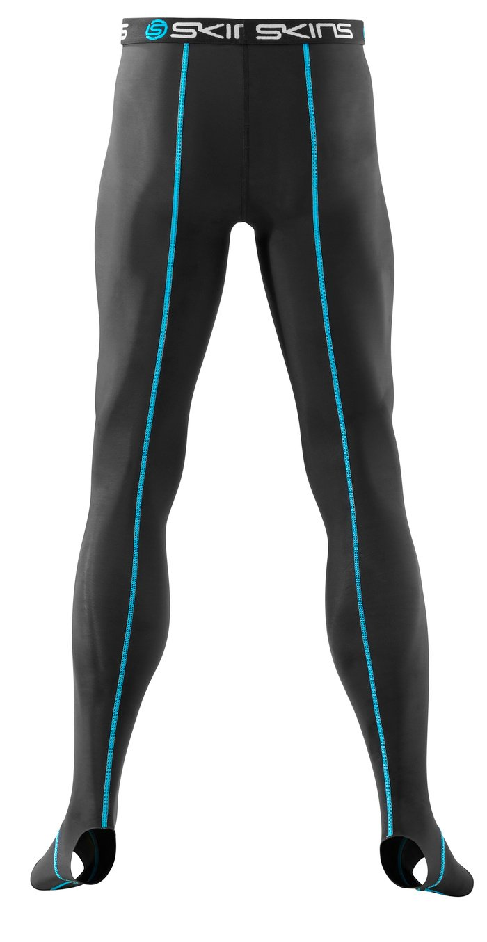 SKINS Unisex Adult Bio T&R Long Tights , Black, XX-Large by Skins (Image #5)