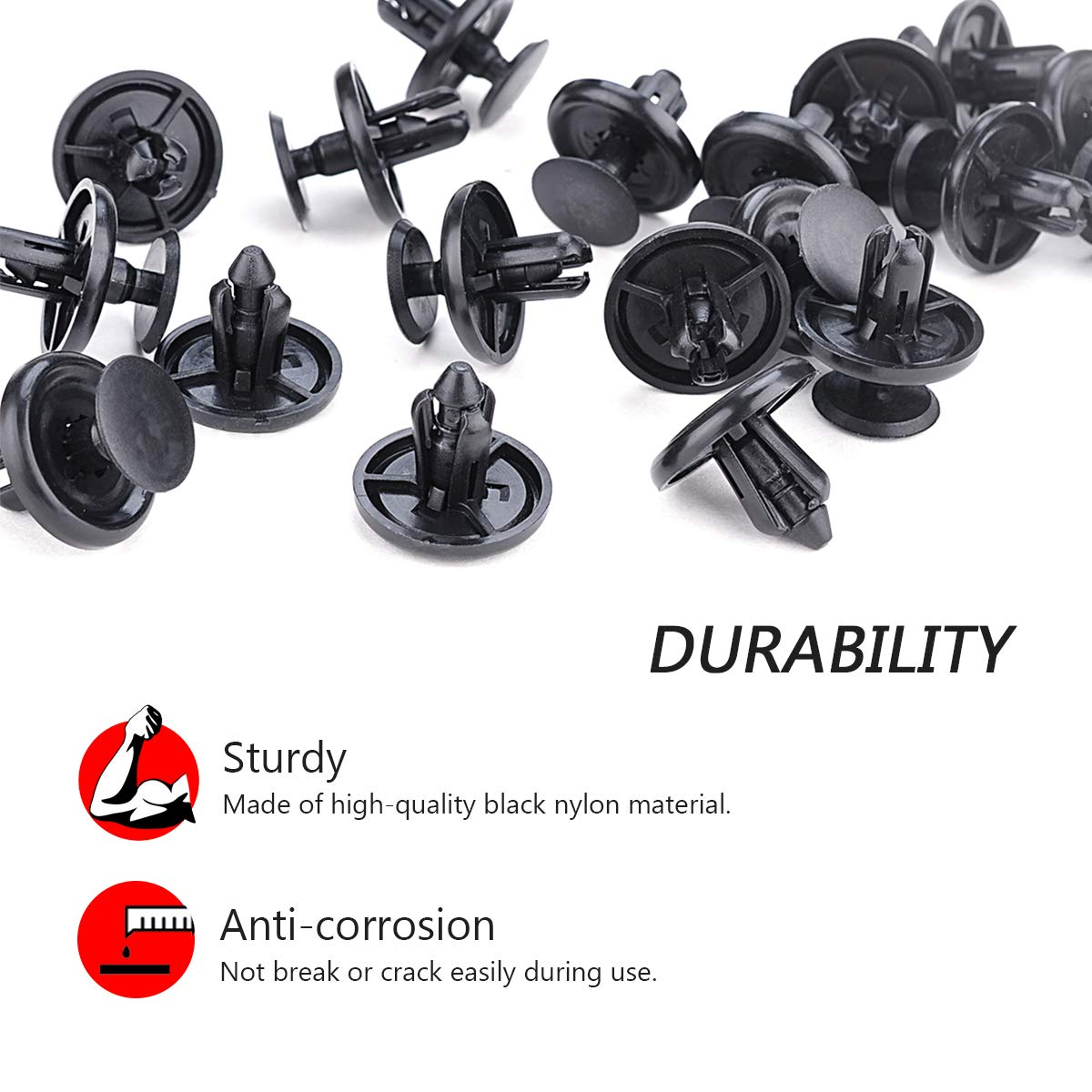 Stronger Than Original OEM Engine Under Cover Replacement Fasteners with Fastener Remover Tool Angooni 100PCS Car Retainer Clips for Lexus Toyota