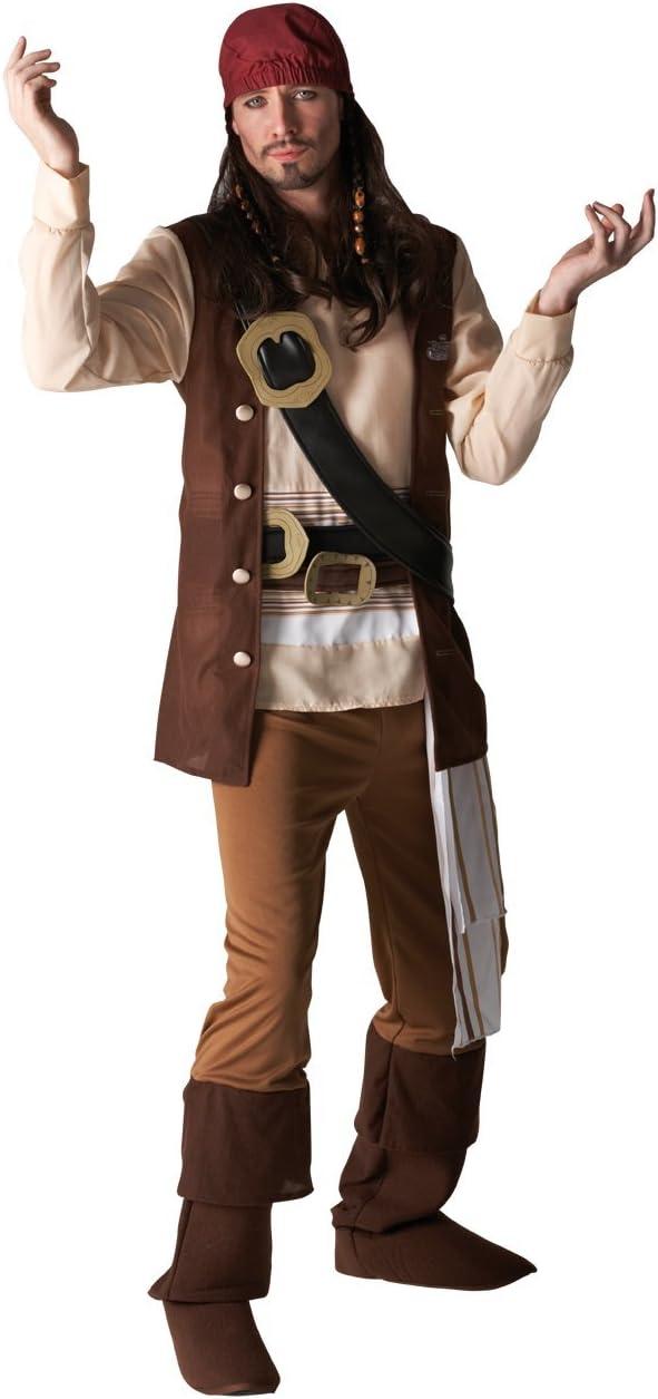 Rubies Disfraz de Jack Sparrow de Disney para hombre: Amazon.es ...
